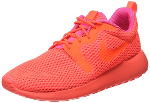 Nike Damen W Roshe One Hyp Br Sneaker, 36.5 EU, Orange (Total Crimson/Pink Blast), 38.5 EU