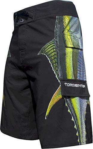 Tormenter Men's Side to 8 Way Stretch Boardshorts, Tuna 38