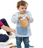 Amica Confección Babi para bebé Modelo Potes Tipo Saco Azul Celeste