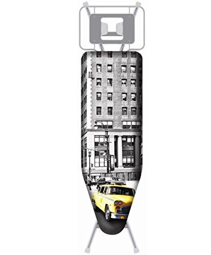 Wpro - ibc060 - Housse pour table à repasser 140x48cm new york