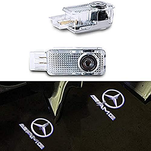XIUJINGHONG Autotür Logo Einstiegsbeleuchtung Türbeleuchtung Einstiegsleuchte Projektion Licht 2 Stück