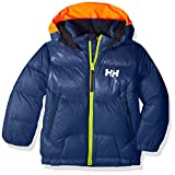 Helly Hansen Kids & Baby Frost Hooded Lightweight Puffy Down Jacket, 603 North Sea Blue, Size 6