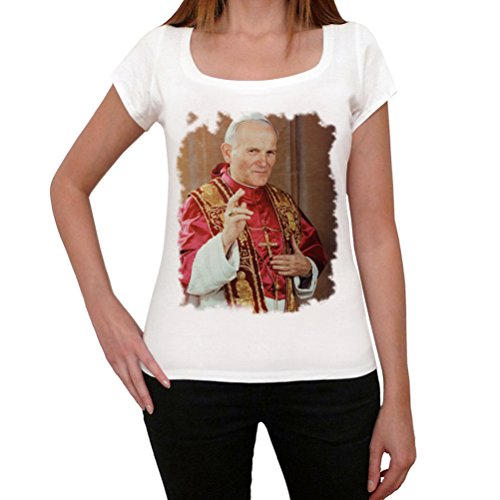 One in the City Pope Jean Paul 2,Tshirt Femme, t Shirt Photo, t Shirt Cadeau