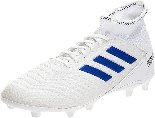 adidas Predator 19.3 Fg, Scarpe da Calcio Uomo, Multicolore (Ftwbla/Azufue/Azufue 000), 42 2/3 EU