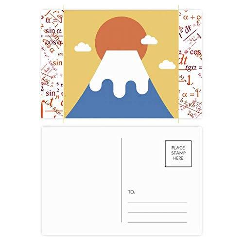 Postales japoneses locales de Sun Rise Formula Set de tarjetas de agradecimiento para correo postal 20pcs