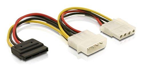 Stromanschlussadapter für SATA und IDE HDD, Delock® [60103]