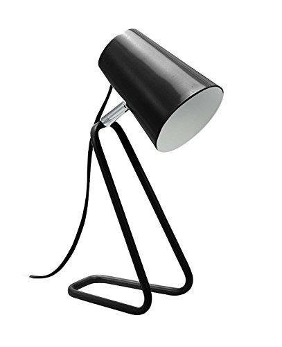 Mathias 3480037 LAMPE BUSY NOIRE P18 H32,5, Métal, E14, P18-H32,5 cm