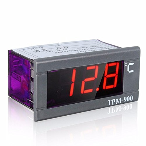 EsportsMJJ Mini-50 ° C A 110 ° C 220V Led Digital Temperatura Panel Medidor Termómetro Con Sensor