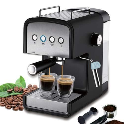 Fighrh 1.2L café express Máquina de Espuma 15 bar Cafetera Electrodomésticos leche vaporizador cocina casera italiana completamente automática Pequeño leche extraída Fantasía vapor Oficina de tierra M: Amazon.es: Hogar