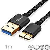 1m Nylon Micro USB 3.0 Datenkabel