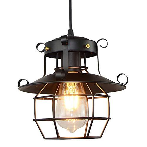 Elitlife Industrielle Pendelleuchte Ø22cm mit E27 Leuchtmittel Retro Hängeleuchte Loft Vintage Stil