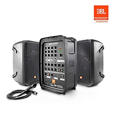 JBL EON208P Portable All-in-One 2-way PA System with 8-Channel Mixer and Bluetooth from JBL
