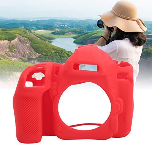 Funda protectora para cámara, funda de silicona para cámara C, material saludable, para Nikon para cámara para Nikon D780 para cámara digital(red)