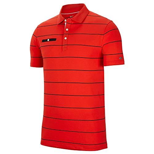 Nike Polo Tennis Bambino Rossa 100 Poliestere 642071 XL