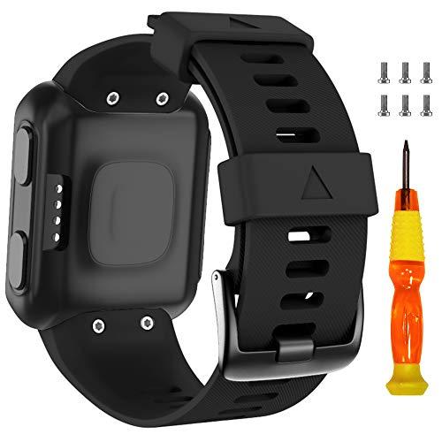 ANBEST compatible con Forerunner 35 pulsera blandas de silicona Uhrenarmband deporte Ersatzarmband para Forerunner 35 Smart Watch