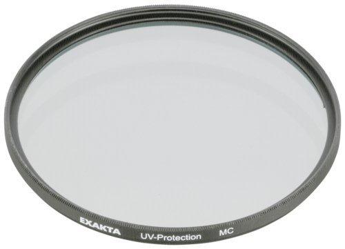 Exakta 1087838 - Filtro Ultravioleta y Protector (52 mm), Color Negro Mate
