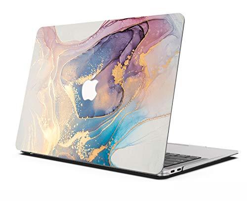 AOGGY - Carcasa para MacBook Pro de 13 pulgadas, 2020, versión A2289/A2251, colorida carcasa rígida protectora para MacBook Pro de 13 pulgadas (con Touch Bar y Touch ID), mármol colorido 6