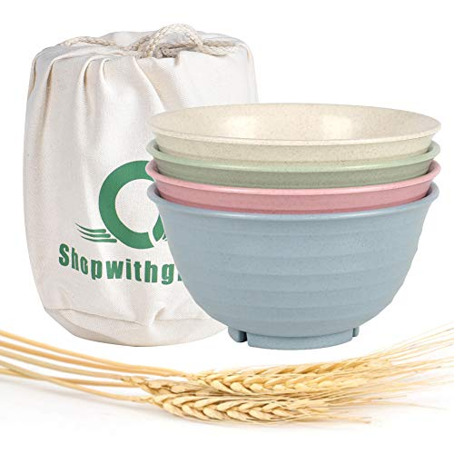 Shopwithgreen Unbreakable Large Cereal Bowls...