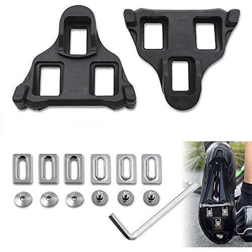 MMBOX Tacos para bicicleta de carretera con bloqueo automático, pedales cómodos para...