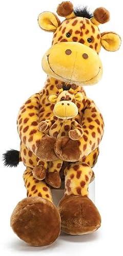Geri The Giraffe Collection Grün 32   Geri der Giraffe gefüllt mit wenig Geri Tierspielzeug