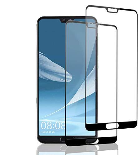 Aspiree 2 Unidades Vidrio Templado Huawei P20 Pro, Protector Pantalla Huawei P20 Pro [Funda Compatible] Cristal Templado con [Anti-Huella/Anti-Burbujas] [Premium 9H Definición]