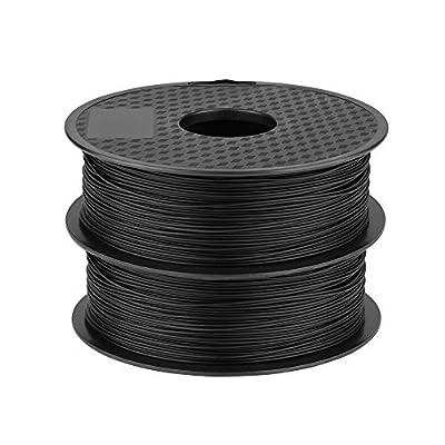 Creality 1.75mm PLA Filament [2 rolls] - Black