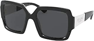 Prada PR21XS Square Sunglasses for Women +. FREE Complimentary Eyewear Kit