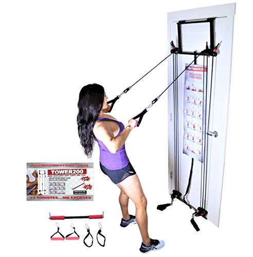 2012 Door Gym Tower 200 Body By Jake Strength Resistance Training + Upgrade Kit
