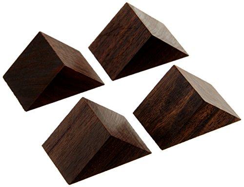 山本音響工芸『黒檀製三角セッティングベース(PB-22)』