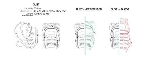 Direct Action Dust Sac à dos tactique Capacité 20 litres, mixte adulte, Pencott Wildwood Mk II, 20 Liter