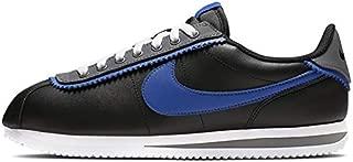 Nike CD7253-002: Men's Cortez Basic SE Black/Game Royal/Dark Grey Sneakers