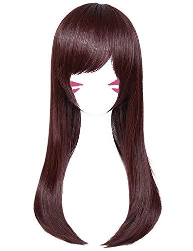 DAZCOS SongHana Straight Hair Cosplay Wig Brown 65 cm (Brown)