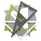 CalleaDesign 42 cm Orologio da Parete Geolo Verde Mela