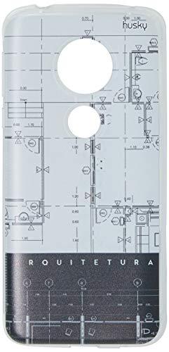 Capa Personalizada para Moto G6 Play - Profissões Arquitetura, Husky, Proteção Completa (Carcaça+Tela), Colorido