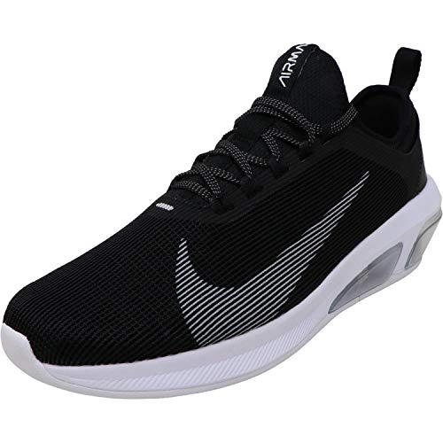Nike Air Max Fly Mens Running Shoes, Black / White / Wolf Grey, 9.5