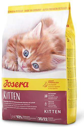 JOSERA Kitten, Katzenfutter für eine optimale Entwicklung, Super Premium Trockenfutter für wachsende Katzen, 1er Pack (1 x 2 kg)