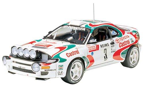 Tamiya 24125 - Maqueta Para Montar, Coche Toyota Celica Castrol WRC Año 1993 Ganador...