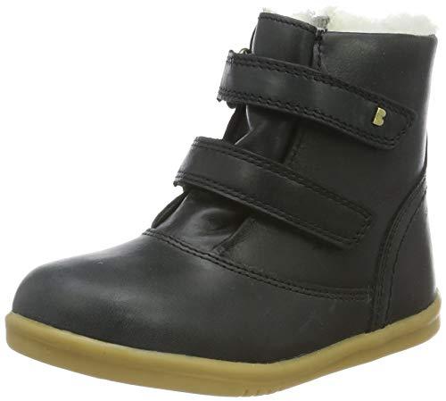 Bobux Iw Aspen Ash Desert Boots pour enfant unisexe - Noir - Noir, 26 EU
