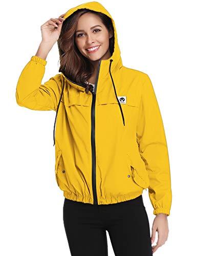 Impermeable Amarillo marca Aibrou