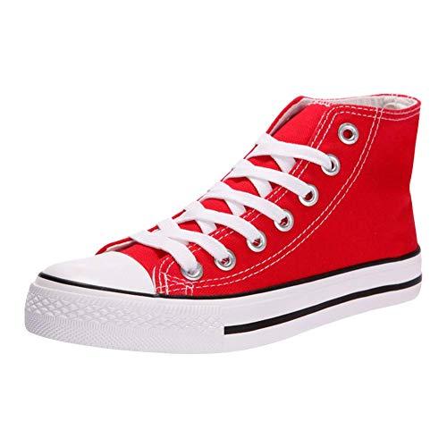 Padgene - Zapatillas de Deporte Mujer Zapatillas Canvas de Lona Unisex de Mujer o Hombre Estilo Casual y Deportivo