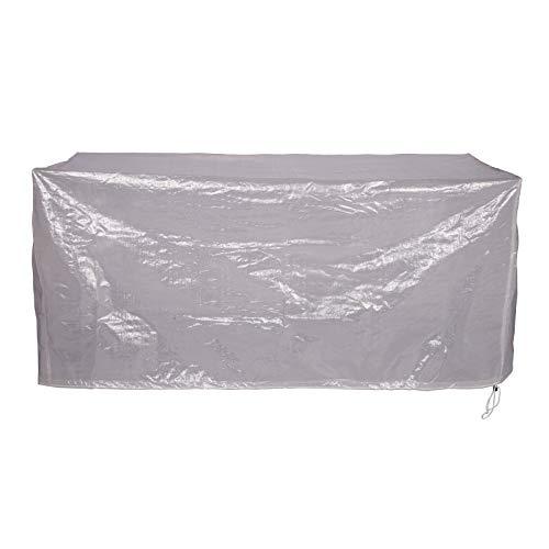 Laneetal Funda para Muebles de Jardín para Mesa Muebles etc Impermeable Protección contra Lluvia,Sol y Polvo,PE 218x77x55cm Transparente