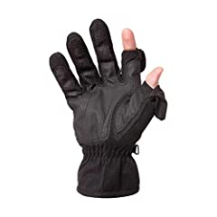 Waterproof / Windproof Back Thinsulate Insulation for Warmth Magnetic Finger Tips Silicon Gripped Palm Designed for a Snug Fit