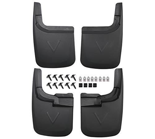 KCOOL Compatible with Mud Flaps Ford 2017-2020 F250 Without OEM Fender Flares...
