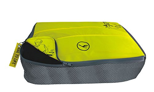 BAG TO LIFE Lufthansa 'Easy Packing Etui' Kleidertasche für Blusen und Hemden Reisetasche Travelbag Unikat