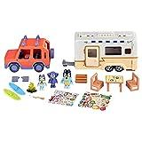 Bluey Ultimate Caravan Adventures - Caravan Playset and Three 2.5-3