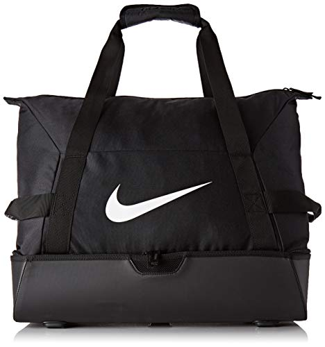 Nike NK ACDMY Team L HDCS Gym Duffel Bag, Black/Black/White, MISC