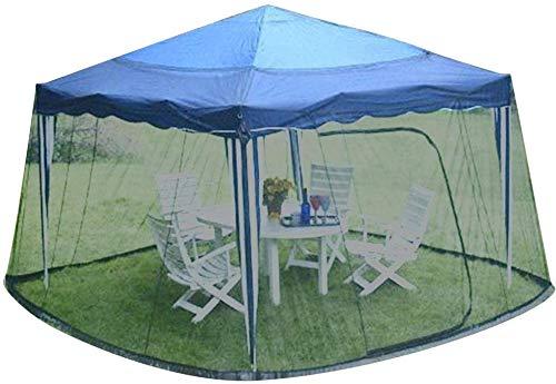 Gazebo - Cenador plegable para jardín con mosquitera, tienda de pantalla con toldo instantáneo