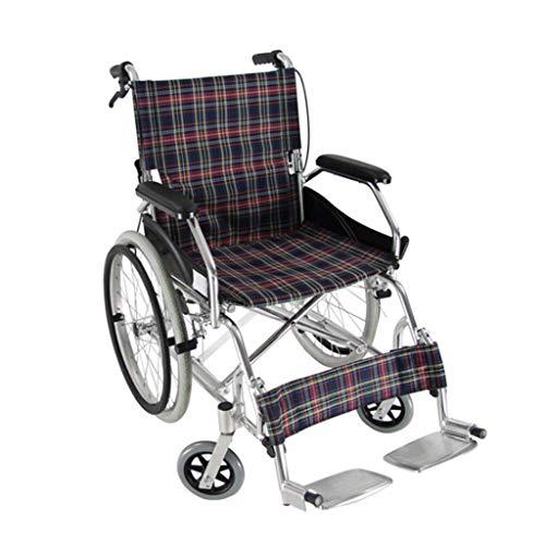 Rollstuhl Tragbare Mobilität Rollstuhl, Leichtklapp Aluminium Selbstfahrer Propel Rollstuhl Armlehne