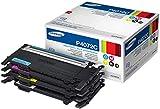 Samsung CLT-P4072C SU382A Cartucce Toner Originali, 4500 Pagine, Compatibili con le Stampanti HP Laserjet Serie CLP 320, 325 e CLX-3280, Multipack da 4, Nero/Ciano/Giallo/Magenta