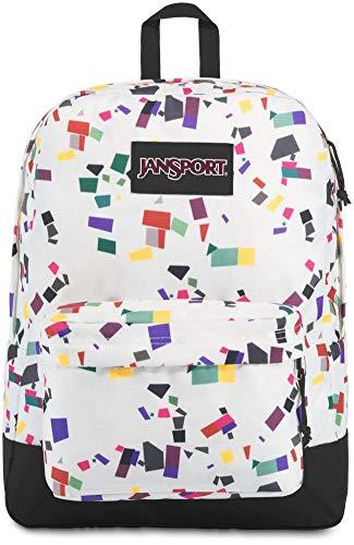 JanSport Black Label Superbreak Backpack - Holiday Geo Party